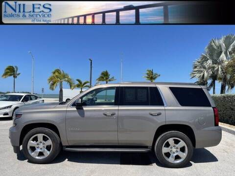 2019 Chevrolet Tahoe for sale at Niles Sales and Service in Key West FL
