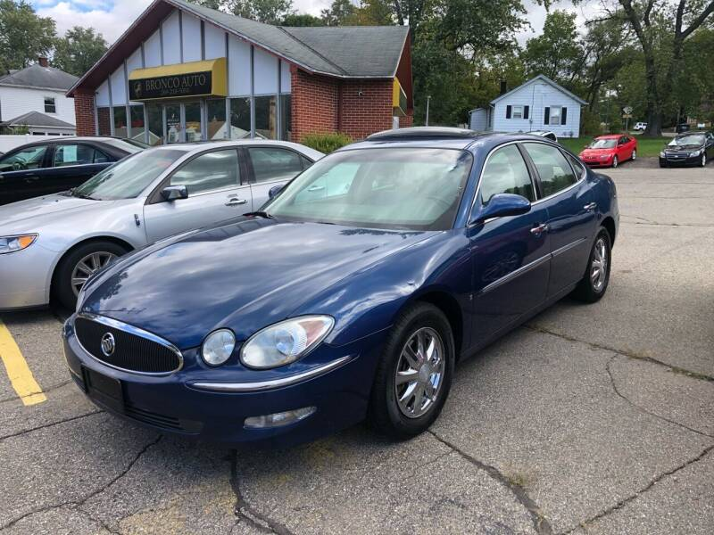 2006 Buick Allure for sale at Bronco Auto in Kalamazoo MI