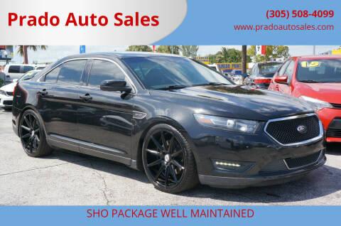 2015 Ford Taurus for sale at Prado Auto Sales in Miami FL