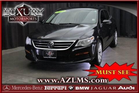 2011 Volkswagen CC for sale at Luxury Motorsports in Phoenix AZ