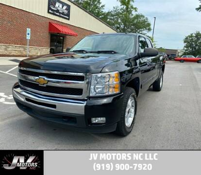 2011 Chevrolet Silverado 1500 for sale at JV Motors NC LLC in Raleigh NC