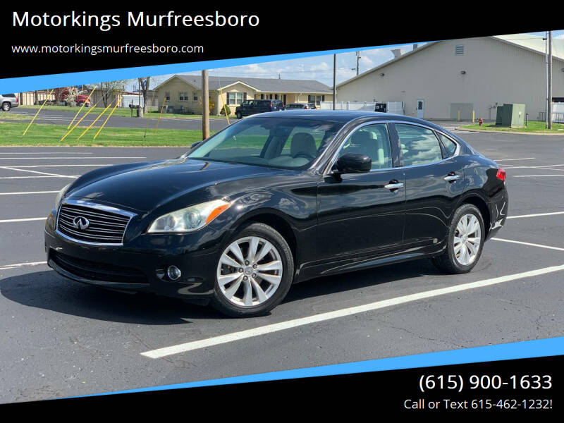 2011 Infiniti M56 for sale at Motorkings Murfreesboro in Murfreesboro TN