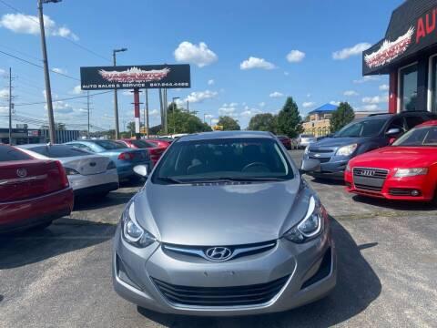 2015 Hyundai Elantra for sale at Washington Auto Group in Waukegan IL