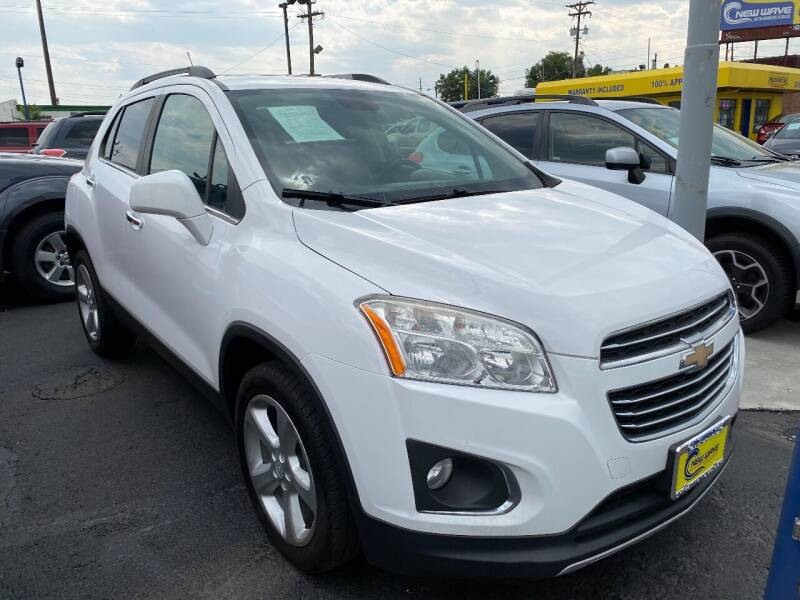 2015 Chevrolet Trax for sale at New Wave Auto Brokers & Sales in Denver CO
