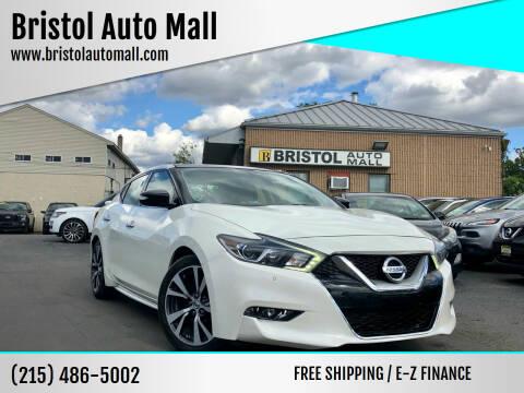 2017 Nissan Maxima for sale at Bristol Auto Mall in Levittown PA
