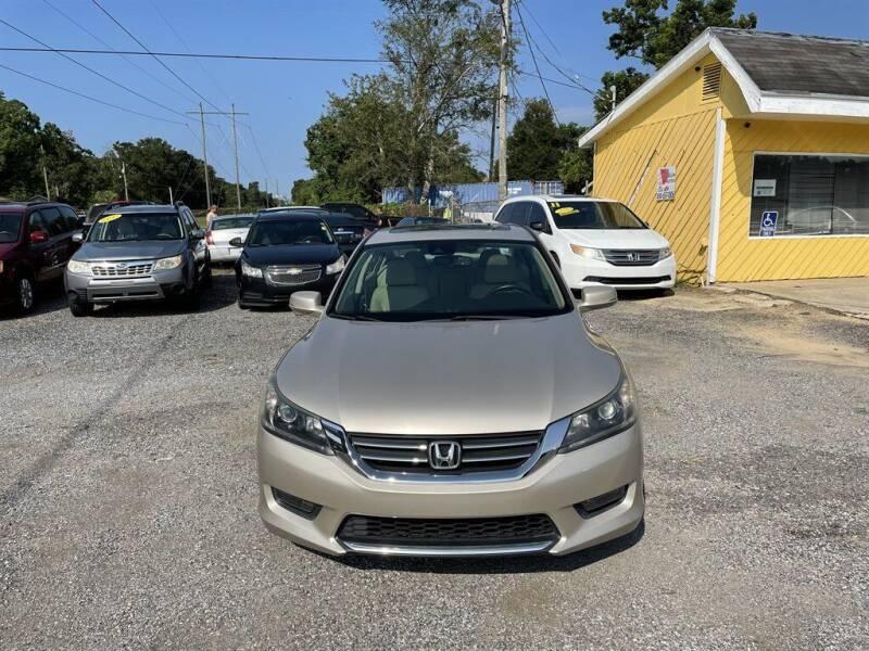 2014 Honda Accord for sale at THE COLISEUM MOTORS in Pensacola FL