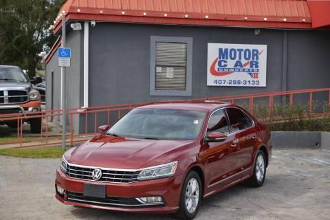 2016 Volkswagen Passat for sale at Motor Car Concepts II - Kirkman Location in Orlando FL