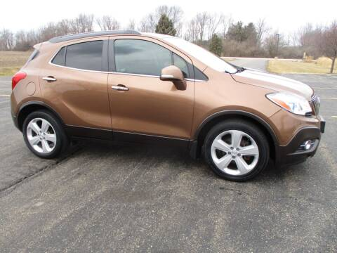 2016 Buick Encore for sale at Crossroads Used Cars Inc. in Tremont IL