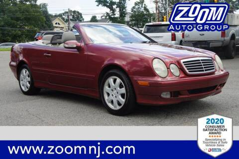 2000 Mercedes-Benz CLK for sale at Zoom Auto Group in Parsippany NJ