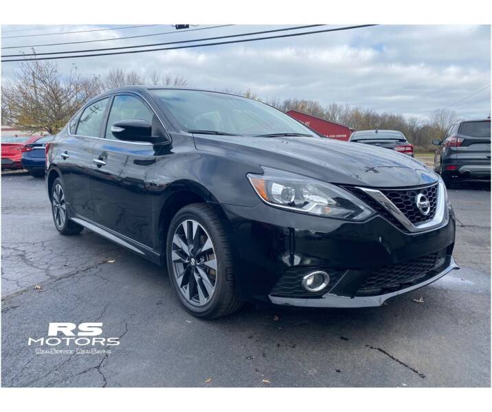2019 Nissan Sentra for sale at RS Motors in Falconer NY