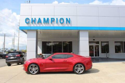 2019 Chevrolet Camaro for sale at Champion Chevrolet in Athens AL