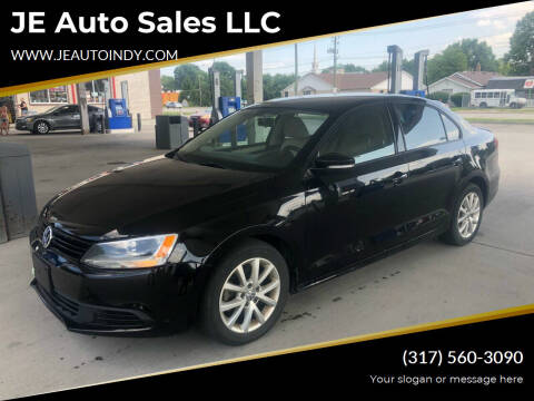 2012 Volkswagen Jetta for sale at JE Auto Sales LLC in Indianapolis IN