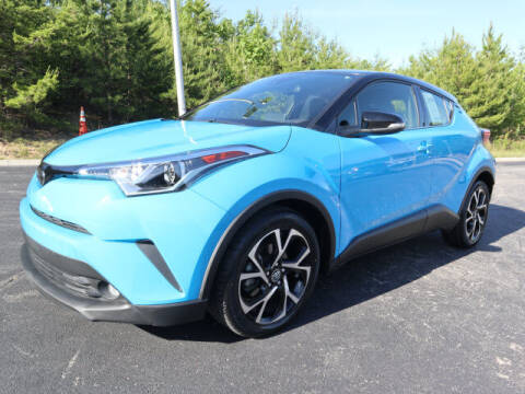 2019 Toyota C-HR for sale at RUSTY WALLACE KIA OF KNOXVILLE in Knoxville TN