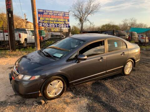 2006 Honda Civic for sale at C.J. AUTO SALES llc. in San Antonio TX