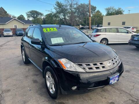 2004 Nissan Murano for sale at DISCOVER AUTO SALES in Racine WI