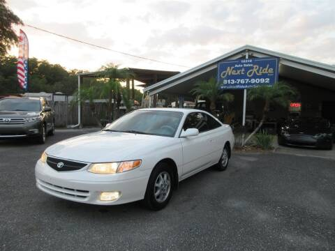 2001 Toyota Camry Solara for sale at NEXT RIDE AUTO SALES INC in Tampa FL