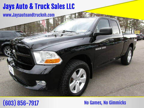 2012 RAM Ram Pickup 1500 for sale at Jays Auto & Truck Sales LLC in Loudon NH
