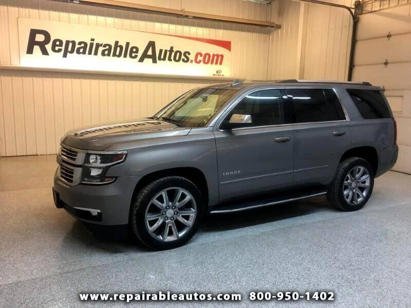 2017 Chevrolet Tahoe for sale at Ken's Auto in Strasburg ND