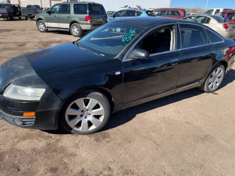 2005 Audi A6 for sale at PYRAMID MOTORS - Fountain Lot in Fountain CO