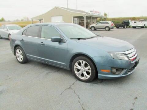 2012 Ford Fusion for sale at 412 Motors in Friendship TN