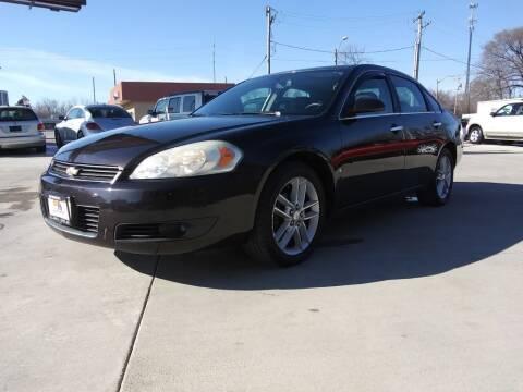 2008 Chevrolet Impala for sale at EURO MOTORS AUTO DEALER INC in Champaign IL