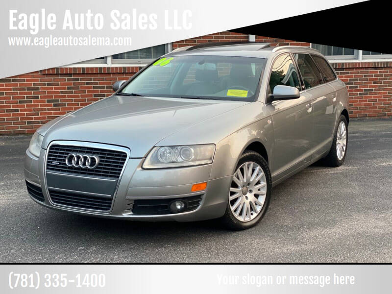 2006 Audi Allroad for sale at Eagle Auto Sales LLC in Holbrook MA