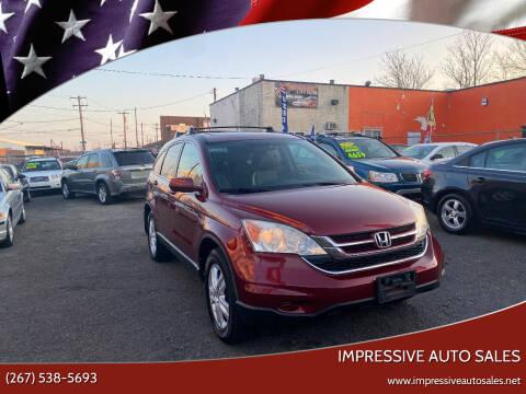 2011 Honda CR-V for sale at Impressive Auto Sales in Philadelphia PA