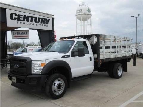 2016 Ford F-450 Super Duty for sale at CENTURY TRUCKS & VANS in Grand Prairie TX