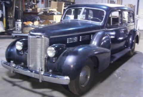 1938 Cadillac Fleetwood for sale at Classic Car Deals in Cadillac MI
