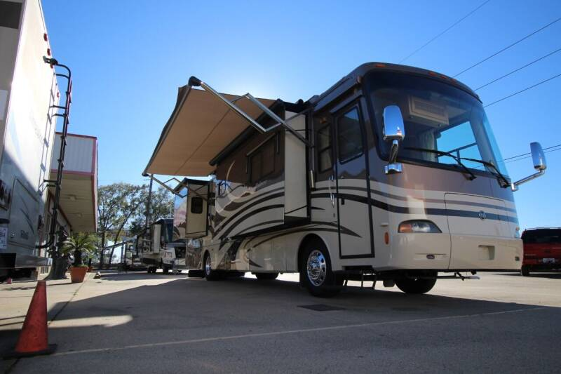 2007 Holiday Rambler Endever 40 PDQ for sale at Texas Best RV in Humble TX