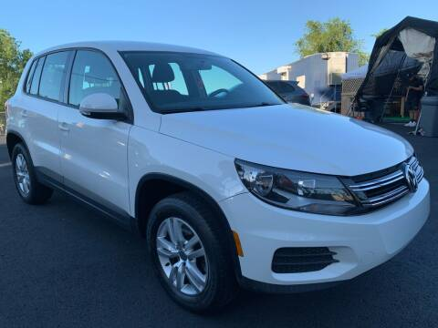 2013 Volkswagen Tiguan for sale at TD MOTOR LEASING LLC in Staten Island NY