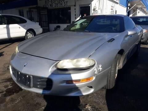 2000 Chevrolet Camaro for sale at Dave-O Motor Co. in Haltom City TX