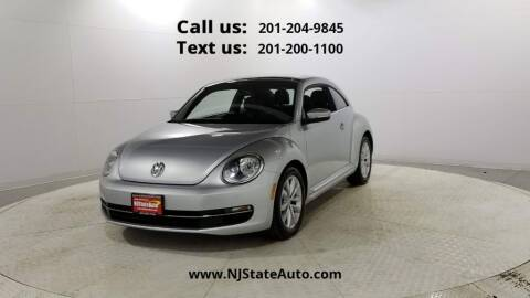 2013 Volkswagen Beetle for sale at NJ State Auto Used Cars in Jersey City NJ