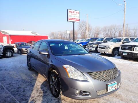 2010 Nissan Altima for sale at Marty's Auto Sales in Savage MN