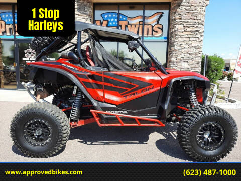 2020 Honda Talon 1000R for sale at 1 Stop Harleys in Peoria AZ