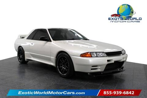 1992 Nissan GT-R for sale at Exotic World Motor Cars in Addison TX