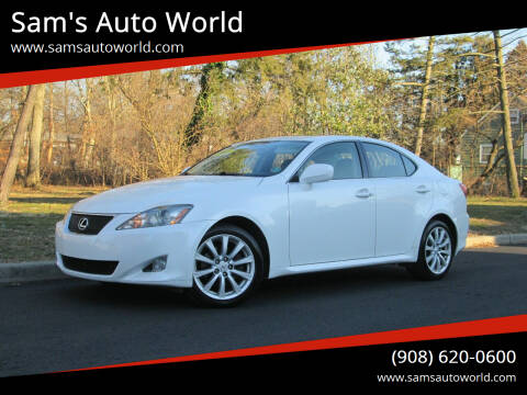 2008 Lexus IS 250 for sale at Sam's Auto World in Roselle NJ