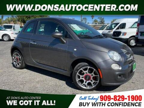 2015 FIAT 500 for sale at Dons Auto Center in Fontana CA