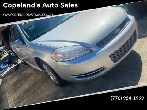 2013 Chevrolet Impala for sale at Copeland's Auto Sales in Union City GA