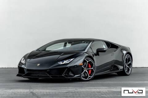 2020 Lamborghini Huracan for sale at Nuvo Trade in Newport Beach CA