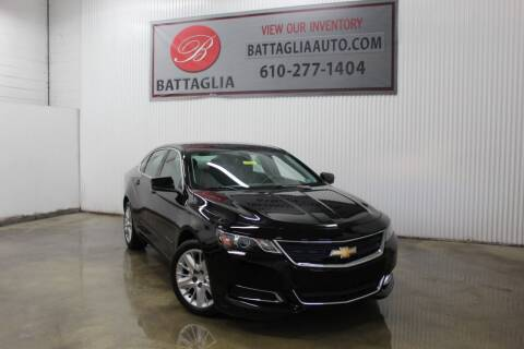 2016 Chevrolet Impala for sale at Battaglia Auto Sales in Plymouth Meeting PA