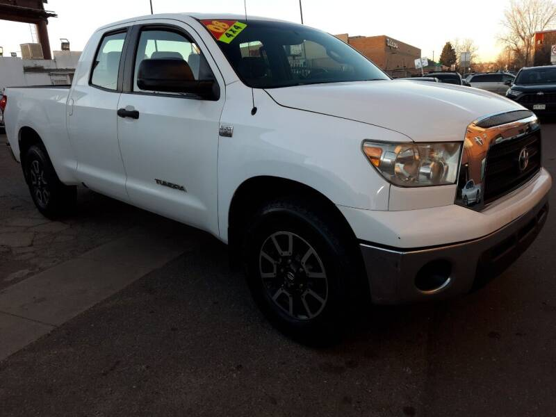 2008 Toyota Tundra for sale at Sanaa Auto Sales LLC in Denver CO