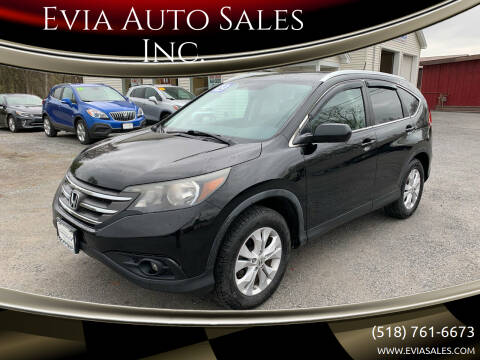 2012 Honda CR-V for sale at Evia Auto Sales Inc. in Glens Falls NY