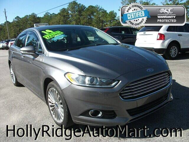 2014 Ford Fusion for sale at Holly Ridge Auto Mart in Holly Ridge NC
