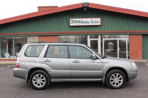 2007 Subaru Forester for sale at Gentry Auto Sales in Portage MI