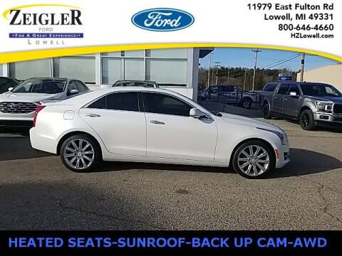2017 Cadillac ATS for sale at Zeigler Ford of Plainwell- Jeff Bishop in Plainwell MI