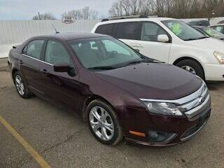 2012 Ford Fusion for sale at WELLER BUDGET LOT in Grand Rapids MI