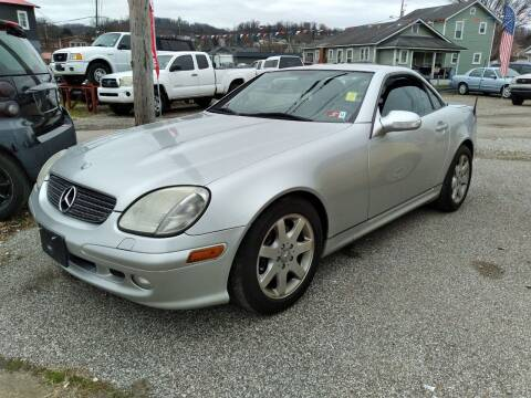 2001 Mercedes-Benz SLK for sale at Sissonville Used Cars in Charleston WV