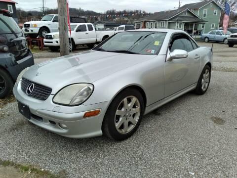 2001 Mercedes-Benz SLK for sale at Sissonville Used Cars in Charleston WV