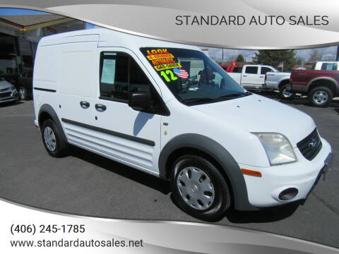 2012 Ford Transit Connect for sale at Standard Auto Sales in Billings MT